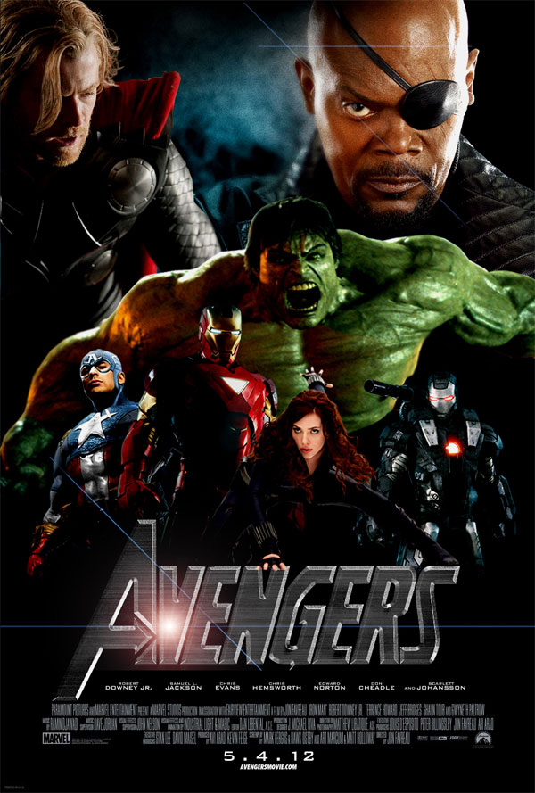 Marvel&#39-s The Avengers (2012) (DVD review). | SFcrowsnest