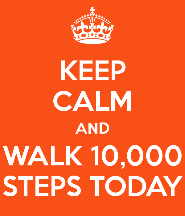 The Obsession Over 10,000 Steps | Transition Of Thoughts